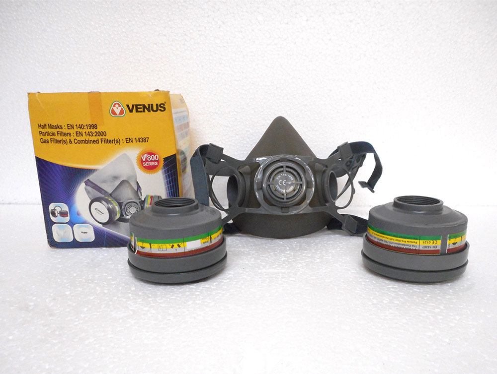 Breathing Mask with Canister Model-2