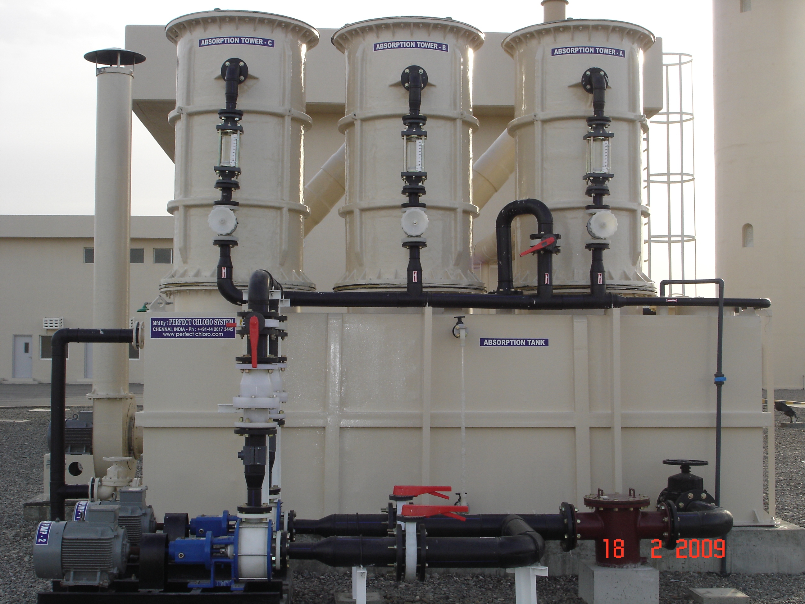 3 Stage Scrubber System